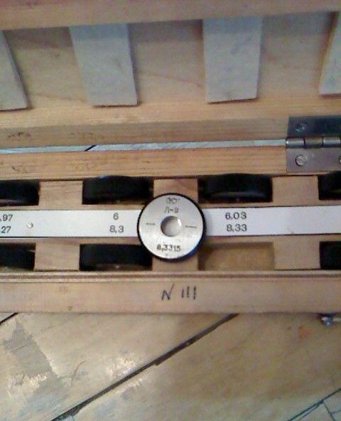 Кольца измерительные (образцовые) и установочные 929.2 модель 104